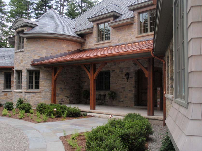 "6"" Copper gutter and Leafproof.JPG"